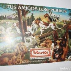 Coleccionismo Álbumes: ALBUM TUS AMIGOS LOS PERROS,PANRICO. Lote 85812936
