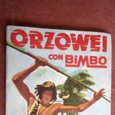 Coleccionismo Álbumes: ALBUM DE CROMOS ORZOWEI DE BIMBO, VACIO. Lote 85893316