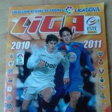 Coleccionismo Álbumes: ÁLBUM CROMOS LIGA 2010 2011. ESTE PANINI. Lote 85905783