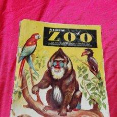 Coleccionismo Álbumes: ALBUM DE CROMOS ZOO MUY ANTIGUO EDICIONES CLIPER AÑO 1954 LE FALTAN 139 CROMOS. Lote 86056912