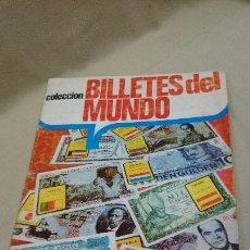 Coleccionismo Álbumes: ÁLBUM INCOMPLETO, BILLETES DEL MUNDO. Lote 86056744
