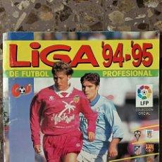 Coleccionismo Álbumes: ALBUM CROMOS FUTBOL. LIGA 94-95. PANINI. INCOMPLETO VER FOTOS. SOLO FALTAN 7 CROMOS. Lote 86173884