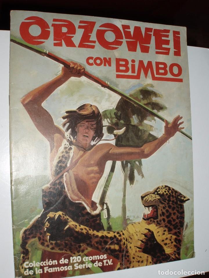 ALBUM ORZOWEI ,BIMBO (Coleccionismo - Cromos y Álbumes - Álbumes Incompletos)