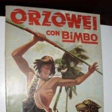 Coleccionismo Álbumes: ALBUM ORZOWEI ,BIMBO. Lote 86510928