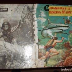 Coleccionismo Álbumes: ALBUM CONQUISTAS Y MISTERIOS DEL MAR, FERMA. Lote 36389772