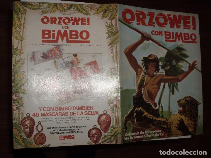 ALBUM ORZOWEI ,BIMBO, MAL ESTADO,VACIO (Coleccionismo - Cromos y Álbumes - Álbumes Incompletos)