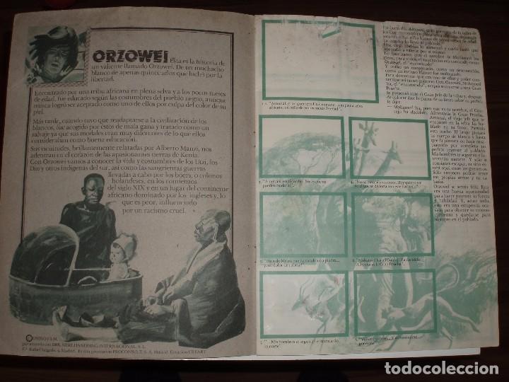Coleccionismo Álbumes: ALBUM ORZOWEI ,BIMBO, MAL ESTADO,VACIO - Foto 3 - 86515344