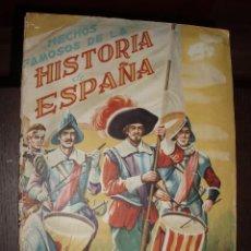 Coleccionismo Álbumes: ALBUM HECHOS FAMOSOS DE LA HISTORIA DE ESPAÑA ,FHER,SOLO FALTAN 18 CROMOS. Lote 86696764