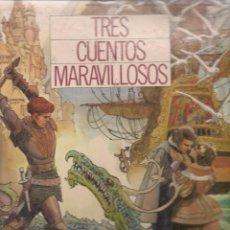 Coleccionismo Álbumes: TRES CUENTOS MARAVILLOSOS. FALTAN 28 CROMOS. MONTE DE PIEDAD Y CAJA DE AHORROS DE SEVILLA. (ST/). Lote 86697532
