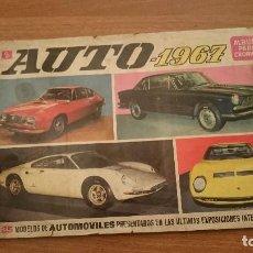 Coleccionismo Álbumes: ALBUM INCOMPLETO - AUTO 1967 LEFALTAN 91 CROMOS. Lote 86728500