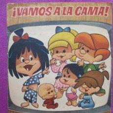 Coleccionismo Álbumes: ALBUM CROMOS VAMOS A LA CAMA, LA FAMILIA TELERIN, TIENE 171 CROMOS. Lote 86734728