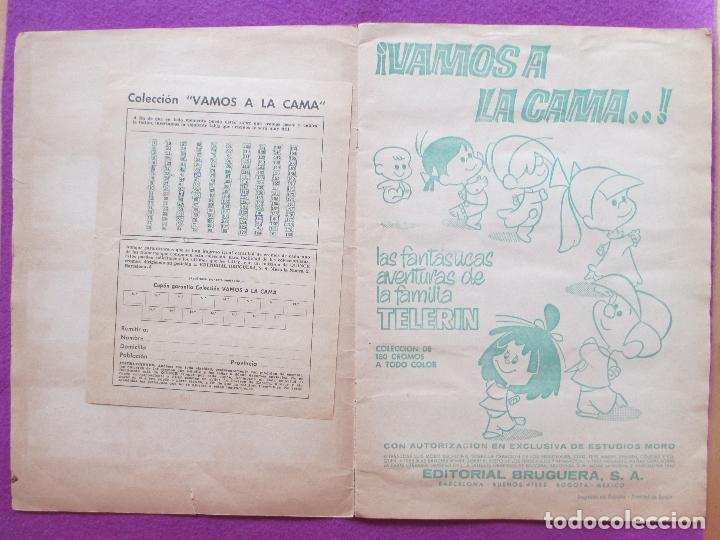 Coleccionismo Álbumes: ALBUM CROMOS VAMOS A LA CAMA, LA FAMILIA TELERIN, TIENE 171 CROMOS - Foto 2 - 86734728