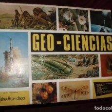 Coleccionismo Álbumes: ALBUM GEO CIENCIAS,CASI COMPLETO. Lote 86794608