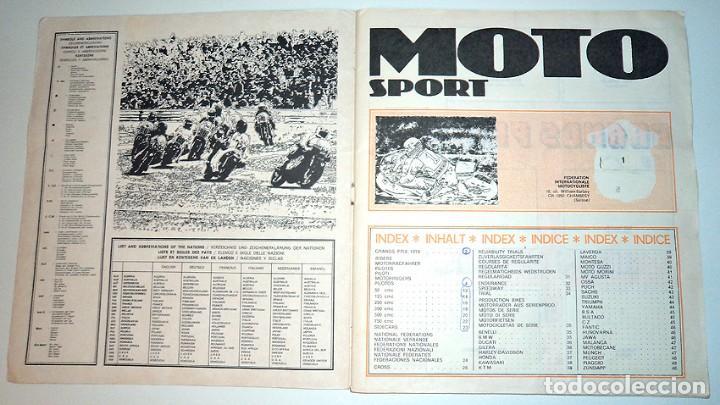 Coleccionismo Álbumes: album 1980 Moto Sport Panini Con 305 cromos Escudos pilotos motos marcas circuitos. Faltan pocos - Foto 2 - 86856356