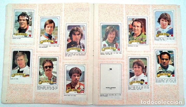Coleccionismo Álbumes: album 1980 Moto Sport Panini Con 305 cromos Escudos pilotos motos marcas circuitos. Faltan pocos - Foto 5 - 86856356
