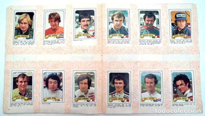 Coleccionismo Álbumes: album 1980 Moto Sport Panini Con 305 cromos Escudos pilotos motos marcas circuitos. Faltan pocos - Foto 6 - 86856356
