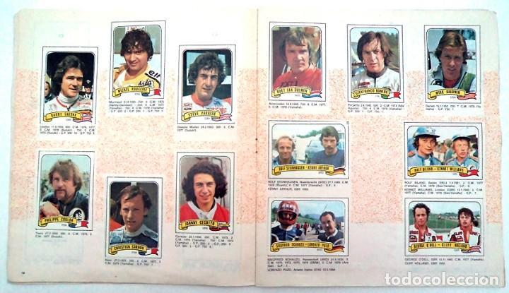 Coleccionismo Álbumes: album 1980 Moto Sport Panini Con 305 cromos Escudos pilotos motos marcas circuitos. Faltan pocos - Foto 7 - 86856356