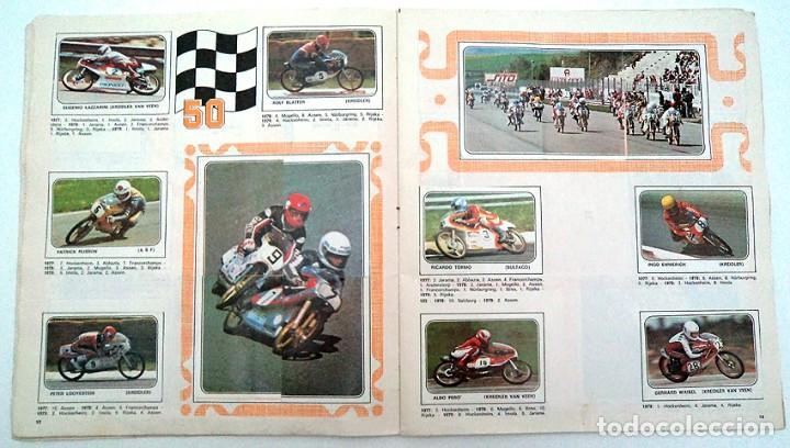 Coleccionismo Álbumes: album 1980 Moto Sport Panini Con 305 cromos Escudos pilotos motos marcas circuitos. Faltan pocos - Foto 8 - 86856356