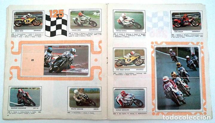 Coleccionismo Álbumes: album 1980 Moto Sport Panini Con 305 cromos Escudos pilotos motos marcas circuitos. Faltan pocos - Foto 9 - 86856356