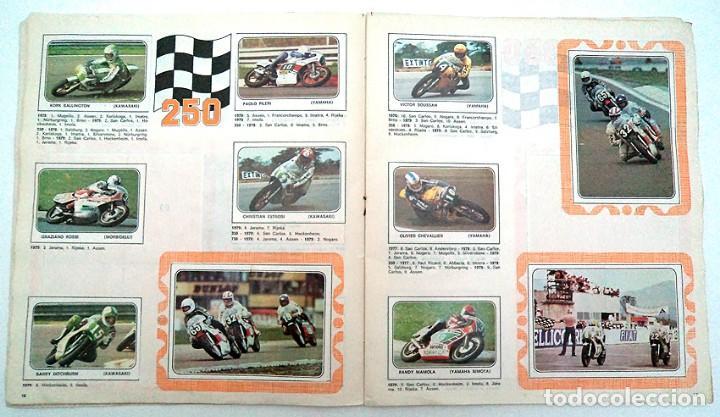 Coleccionismo Álbumes: album 1980 Moto Sport Panini Con 305 cromos Escudos pilotos motos marcas circuitos. Faltan pocos - Foto 10 - 86856356
