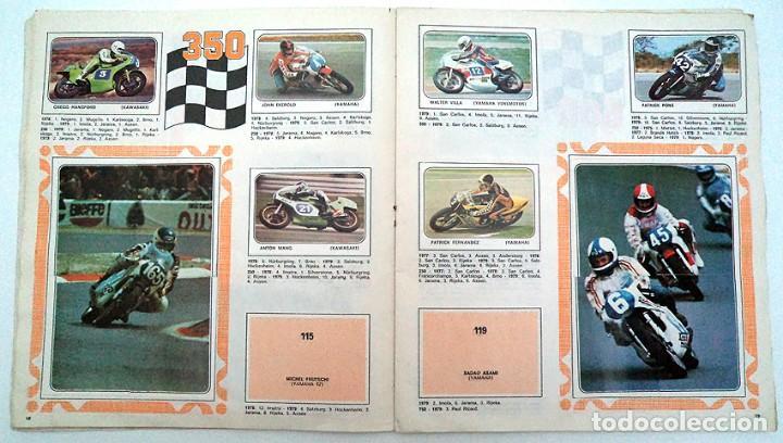Coleccionismo Álbumes: album 1980 Moto Sport Panini Con 305 cromos Escudos pilotos motos marcas circuitos. Faltan pocos - Foto 11 - 86856356