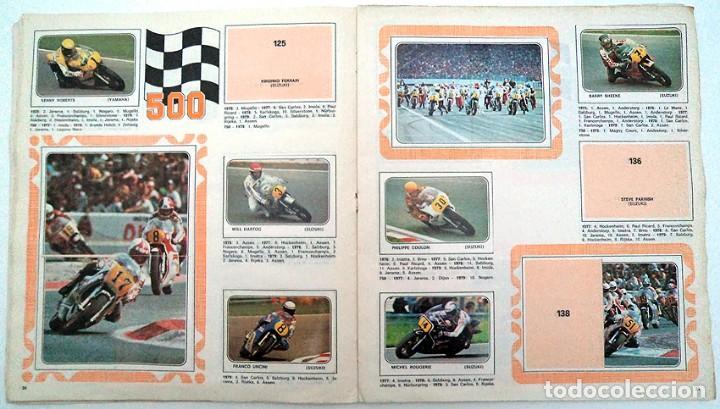 Coleccionismo Álbumes: album 1980 Moto Sport Panini Con 305 cromos Escudos pilotos motos marcas circuitos. Faltan pocos - Foto 12 - 86856356