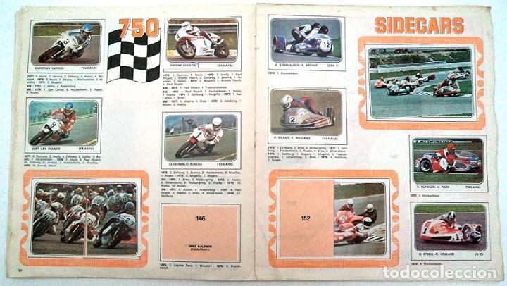Coleccionismo Álbumes: album 1980 Moto Sport Panini Con 305 cromos Escudos pilotos motos marcas circuitos. Faltan pocos - Foto 13 - 86856356