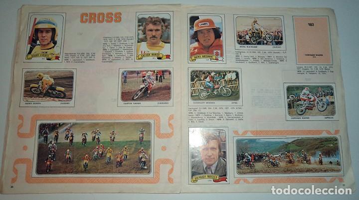 Coleccionismo Álbumes: album 1980 Moto Sport Panini Con 305 cromos Escudos pilotos motos marcas circuitos. Faltan pocos - Foto 15 - 86856356