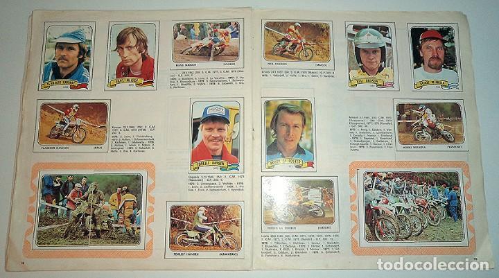 Coleccionismo Álbumes: album 1980 Moto Sport Panini Con 305 cromos Escudos pilotos motos marcas circuitos. Faltan pocos - Foto 16 - 86856356