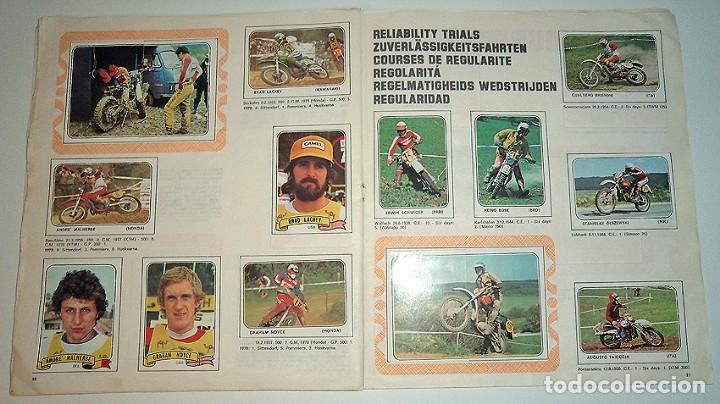 Coleccionismo Álbumes: album 1980 Moto Sport Panini Con 305 cromos Escudos pilotos motos marcas circuitos. Faltan pocos - Foto 17 - 86856356