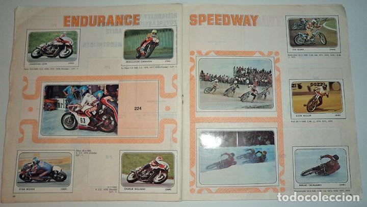 Coleccionismo Álbumes: album 1980 Moto Sport Panini Con 305 cromos Escudos pilotos motos marcas circuitos. Faltan pocos - Foto 18 - 86856356