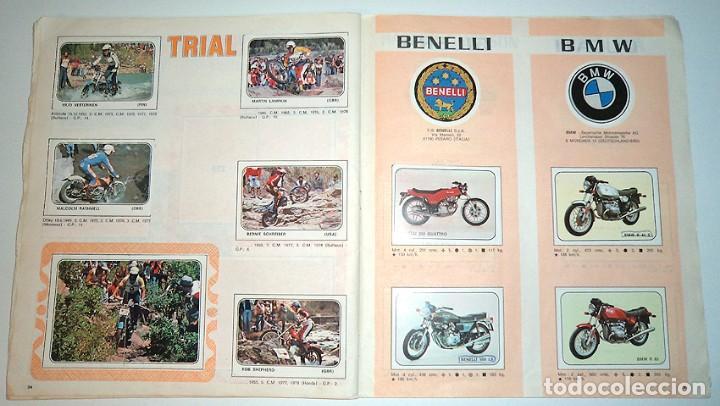 Coleccionismo Álbumes: album 1980 Moto Sport Panini Con 305 cromos Escudos pilotos motos marcas circuitos. Faltan pocos - Foto 19 - 86856356