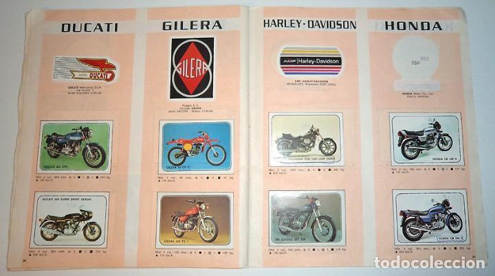 Coleccionismo Álbumes: album 1980 Moto Sport Panini Con 305 cromos Escudos pilotos motos marcas circuitos. Faltan pocos - Foto 20 - 86856356
