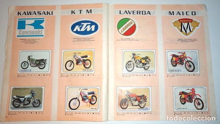 Coleccionismo Álbumes: album 1980 Moto Sport Panini Con 305 cromos Escudos pilotos motos marcas circuitos. Faltan pocos - Foto 21 - 86856356