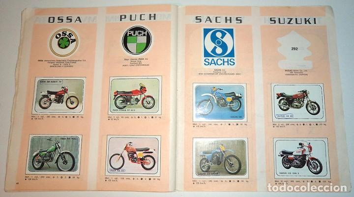 Coleccionismo Álbumes: album 1980 Moto Sport Panini Con 305 cromos Escudos pilotos motos marcas circuitos. Faltan pocos - Foto 23 - 86856356