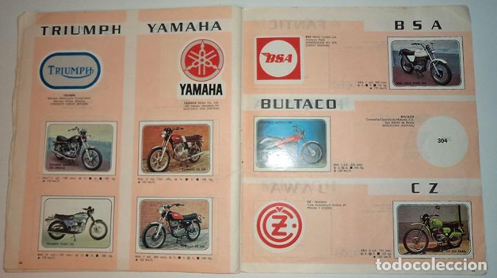 Coleccionismo Álbumes: album 1980 Moto Sport Panini Con 305 cromos Escudos pilotos motos marcas circuitos. Faltan pocos - Foto 24 - 86856356