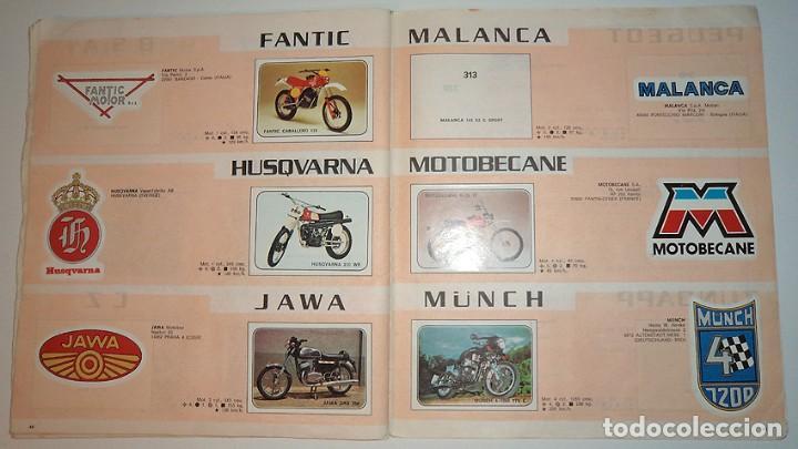 Coleccionismo Álbumes: album 1980 Moto Sport Panini Con 305 cromos Escudos pilotos motos marcas circuitos. Faltan pocos - Foto 25 - 86856356