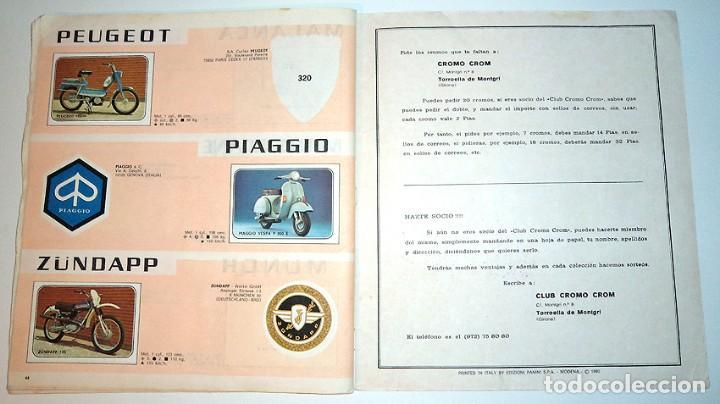 Coleccionismo Álbumes: album 1980 Moto Sport Panini Con 305 cromos Escudos pilotos motos marcas circuitos. Faltan pocos - Foto 26 - 86856356