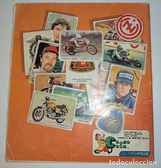 Coleccionismo Álbumes: album 1980 Moto Sport Panini Con 305 cromos Escudos pilotos motos marcas circuitos. Faltan pocos - Foto 27 - 86856356