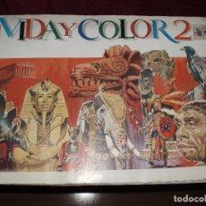Coleccionismo Álbumes: ALBUM VIDA Y COLOR 2 COMPLETO. Lote 86902940