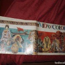 Coleccionismo Álbumes: ALBUM VIDA Y COLOR 2 VACIO. Lote 86910532