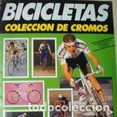 Coleccionismo Álbumes: ALBUM BICICLETAS -CUSCO-PLANCHA VACIO. Lote 152185637