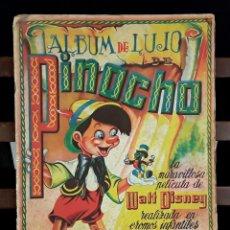 Coleccionismo Álbumes: ÁLBUM DE LUJO DE PINOCHO. WALT DISNEY. FHER. EDITORIAL SATURNINO CALLEJA. S/F.. Lote 153011768