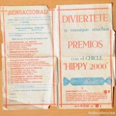 Coleccionismo Álbumes: ALBÚM Nº 1 CHICLES HIPPY 2000. AÑOS 70.. Lote 87535404