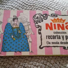 Coleccionismo Álbumes: ALBUM NINA LA MODA DESDE EVA. Lote 87626711