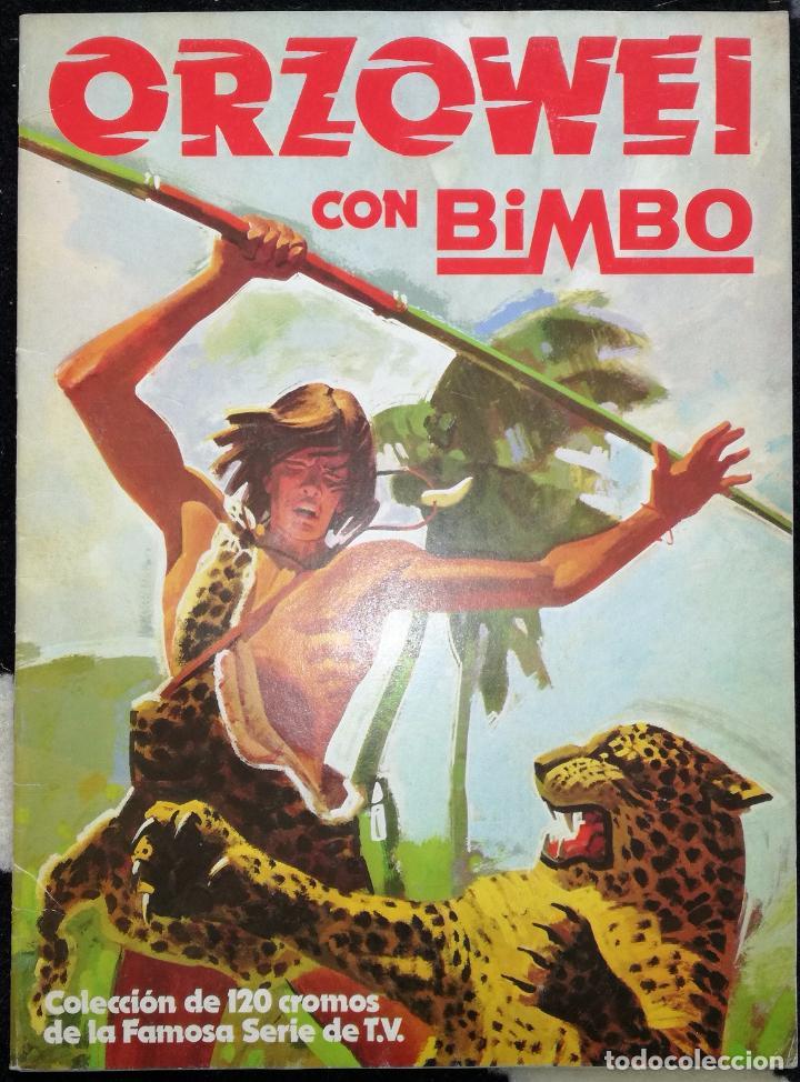 ALBUM ORZOWEI; BIMBO - CONTIENE 78 CROMOS (Coleccionismo - Cromos y Álbumes - Álbumes Incompletos)