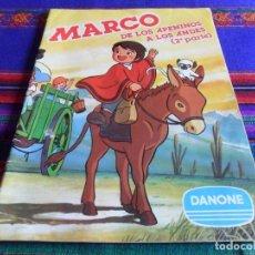Coleccionismo Álbumes: MARCO DE LOS APENINOS A LOS ANDES 2ª PARTE VACÍO. REGALO DON QUIJOTE. DANONE AÑOS 80. BE.. Lote 41685511