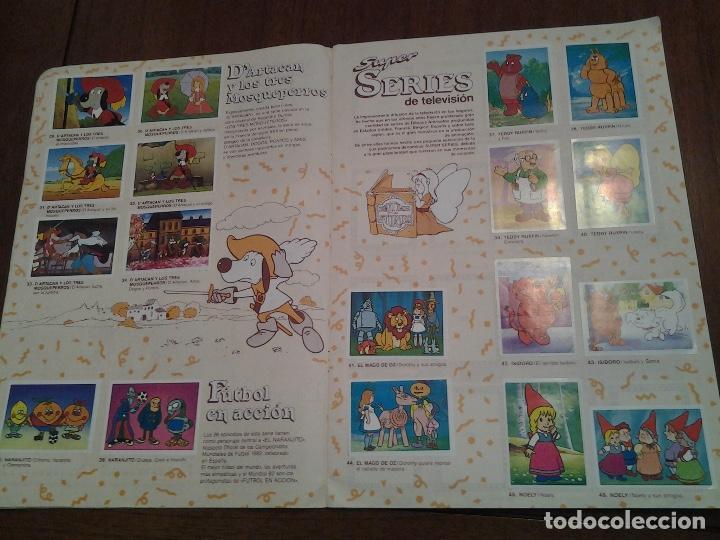 Coleccionismo Álbumes: SUPER FESTIVAL DEL DIBUJO ANIMADO - EDICIONES ESTE - ALBUM DE CROMOS - FALTAN EL 64 Y 99 - Foto 2 - 87743456