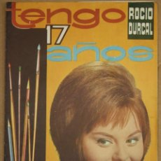 Coleccionismo Álbumes: ALBUM TENGO 17 AÑOS ROCIO DURCAL. EDITORIAL FHER. BILBAO. AÑO 1964. Lote 88120468