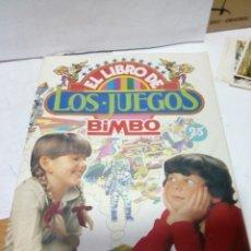 Coleccionismo Álbumes: ALBUM VACÍO EL LIBRO DE LOS JUEGOS BIMBO. Lote 90903469